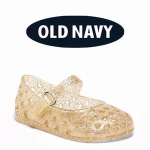 Old Navy Baby Girl Heart Jelly Mary-Jane's